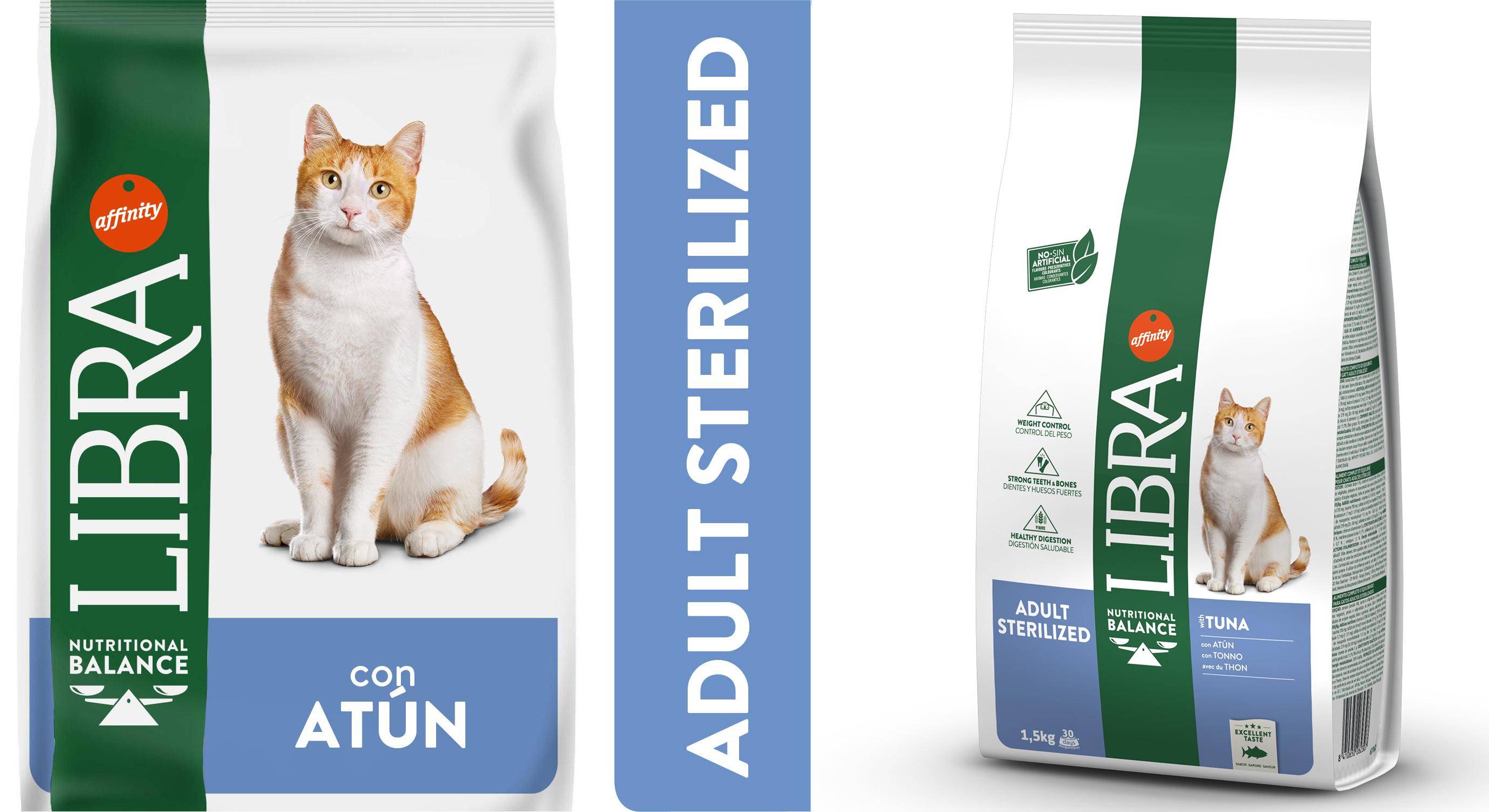 Libra de Affinity | Gato Adult sterilized