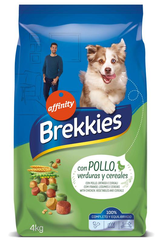 fotografía de perros Nuevo Brekkies de Affinity Perros Chicken
