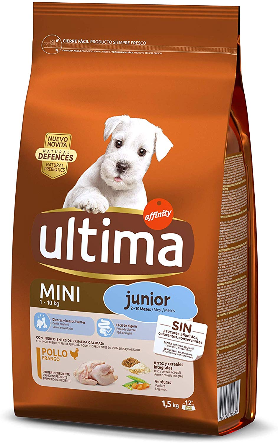 Ultima de affinity Schnauzer Junior